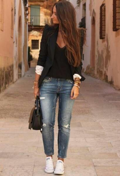 Etre classe même en jeans
