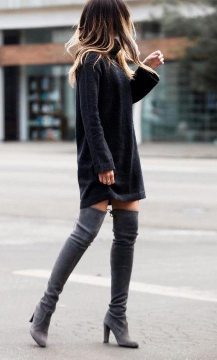Sexy en portant des cuissardes