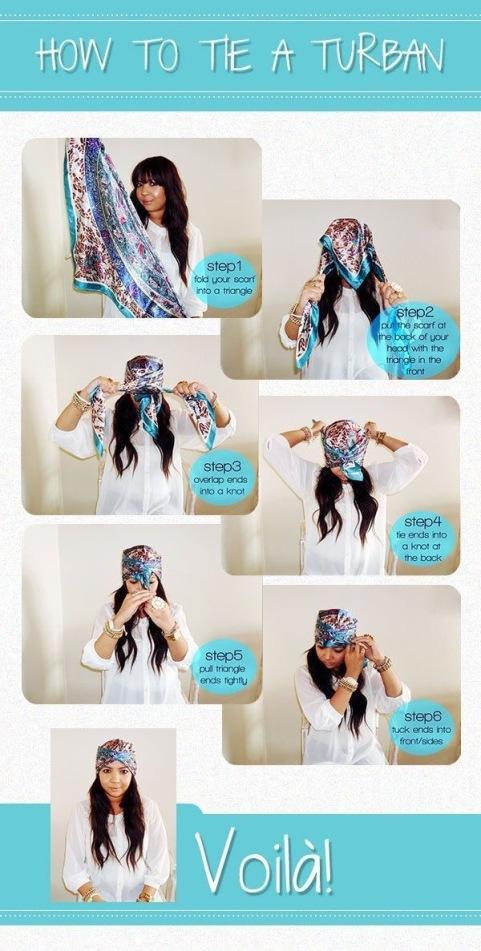 Tuto coiffure : Porter un foulard