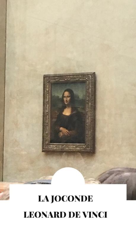 La joconde de Leonard de Vinci